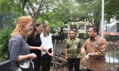 Arief Temui Mahasiswa Belanda soal Bendungan Tanah Tinggi