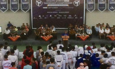 Kejuaraan Taekwondo Terbuka Krakatau Posco