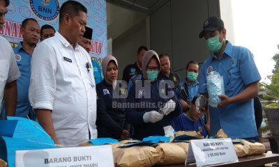 BNN Banten Musnahkan 7 kg Sabu