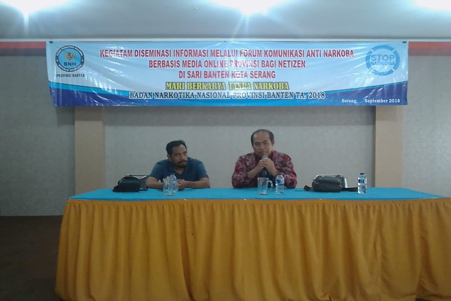 BNN Banten Minta Masyarakat Bantu Berantas Narkoba