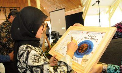 Iti Octavia Jayabaya saat Festival Seni Multatuli