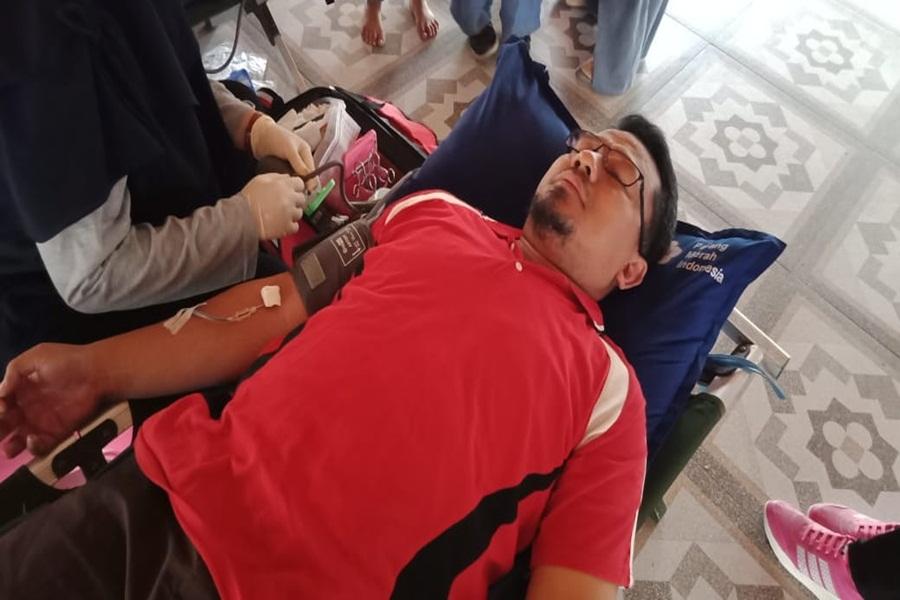 Kohati Lebak Gelar Donor Darah