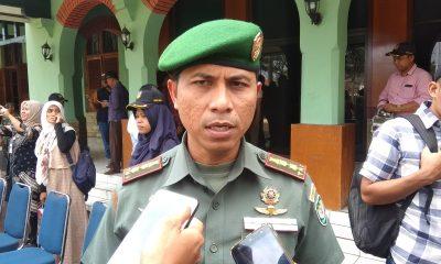Dandim 0602Serang Letkol Czi Harry Praptomo. (Banten Hits Mahyadi)