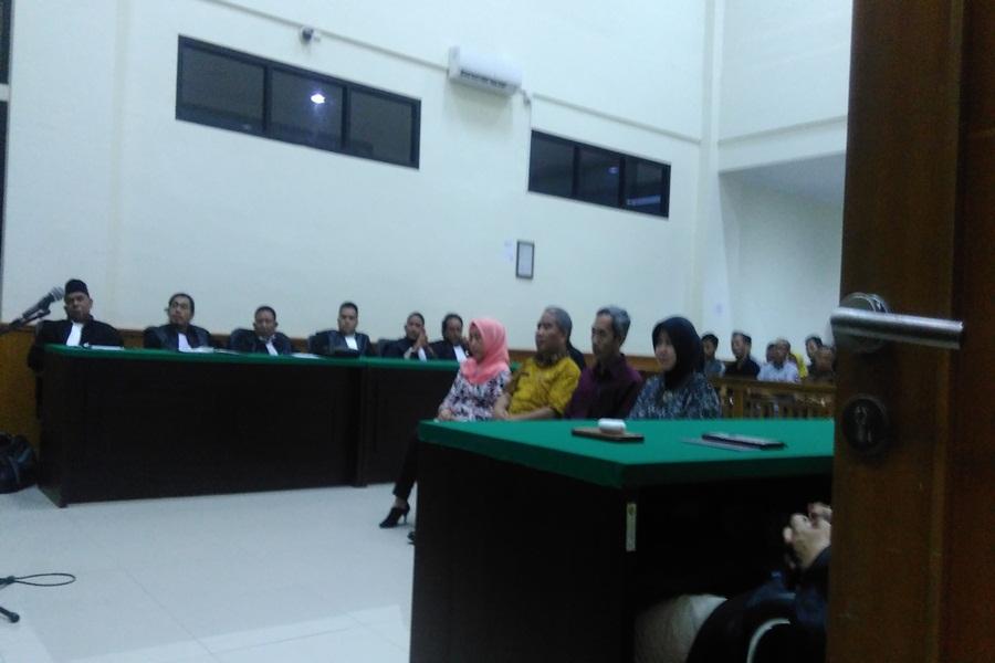 Terdakwa Kasus Tunjangan Daerah Dindik Pandeglang