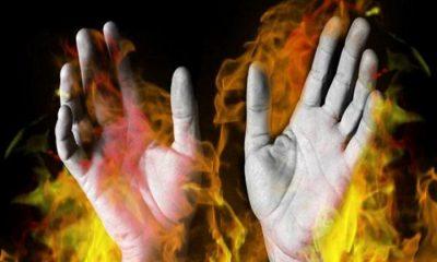 Wanita Dibakar Mantan Suami