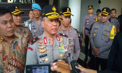 Kapolda Banten Brigjen Pol Teddy Minahasa