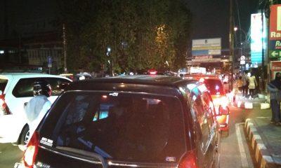 Kemacetan Akibat Penutupan Festival Cisadane