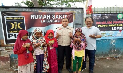 PKS Banten Salurkan Bantuan Korban Gempa Lombok