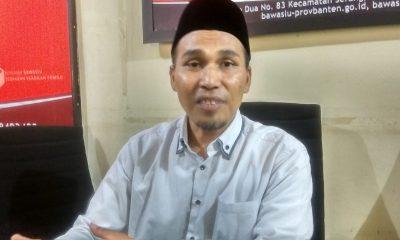 Ketua Bawaslu Banten Didih M Sudih