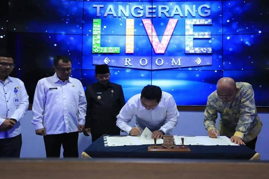 MoU Pemkot Tangerang dengan Pemkot Medan terkait Aplikasi
