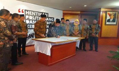 Deklarasi Gerakan Banten Bisa Hentikan Politik Uang dan Ujaran Kebencian