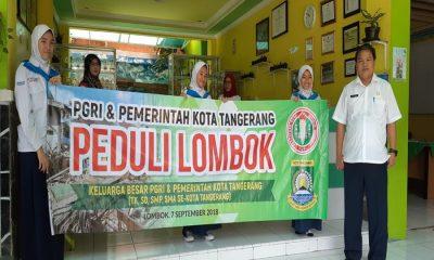 PGRI Kota Tangerang Galang Dana Gempa Bumi Lombok