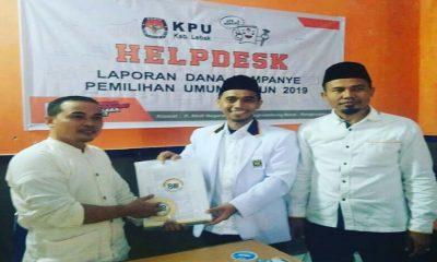 PKS Serahkan Laporan Dana Kampanye ke KPU Lebak