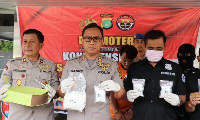 Polrestro Tangerang Tangkap Pengedar Sabu