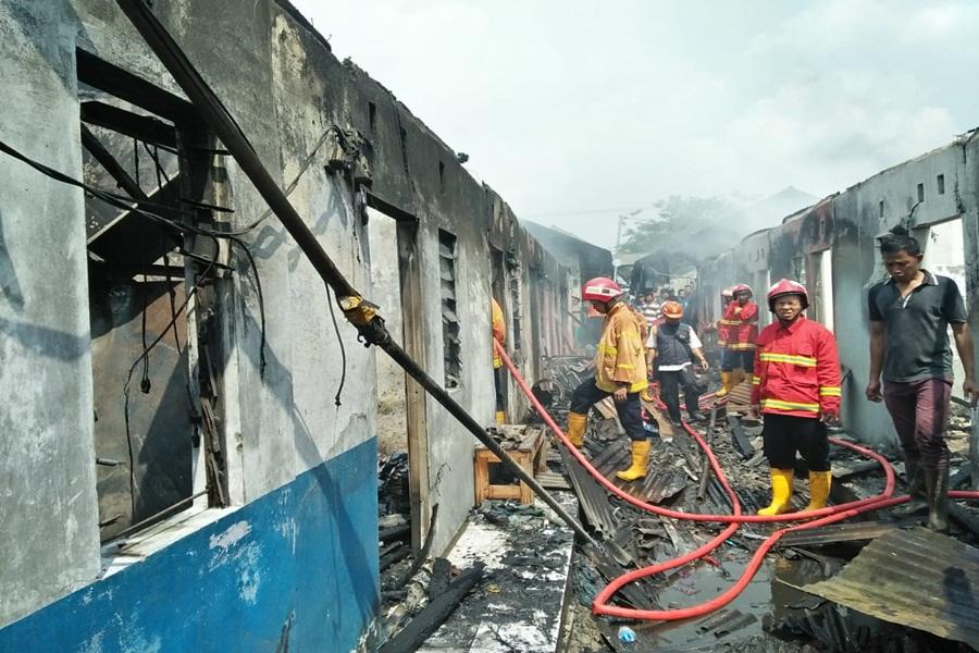 Kebakaran di Jatiuwung Tangerang