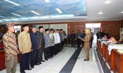 Ratu Tatu Kukuhkan Pengurus FKUB