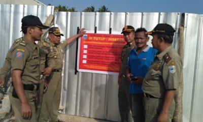 Blatching Plant di Panimbang Disegel