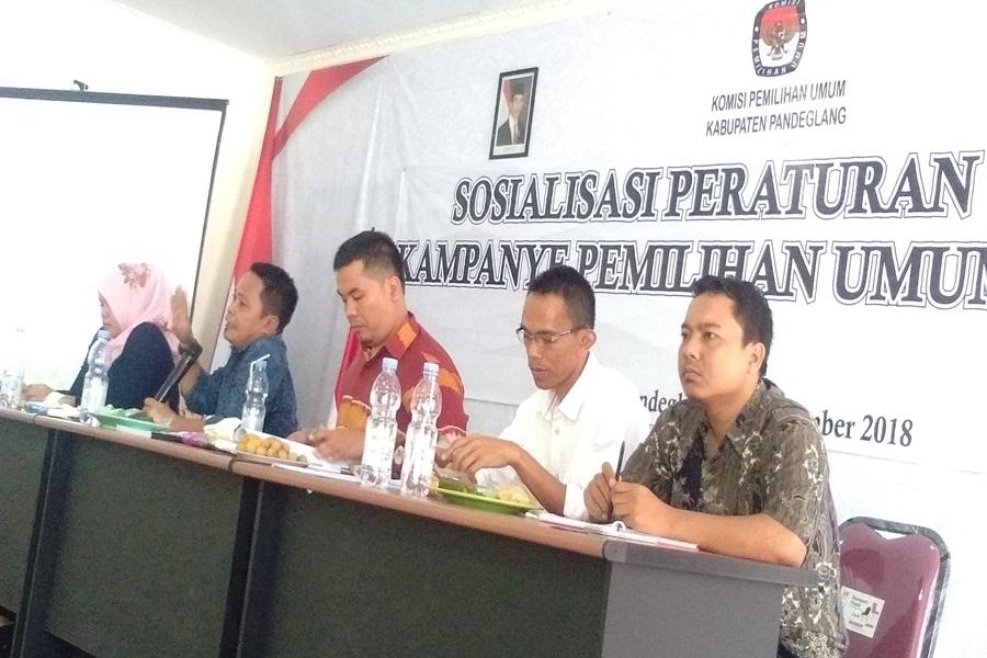 KPU Pandeglang Imbau Pemkab soal Gedung Pemerintahan