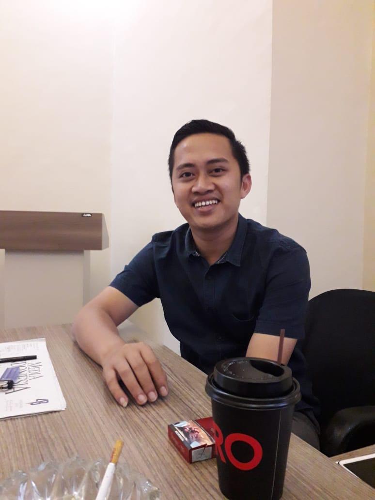 Sekretaris Gapensi Kabupaten Lebak Achmad Deni Setiawan