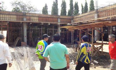 Arief R. Wismansyah Pantau Proyek