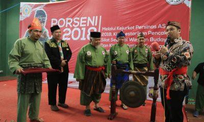 Wali Kota Tangerang Buka Persinas