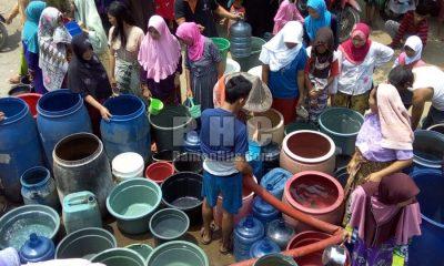 Kesulitan Air Bersih di Kabupaten Serang