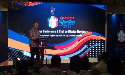 Zaki Sampaikan Persiapan Porprov Banten
