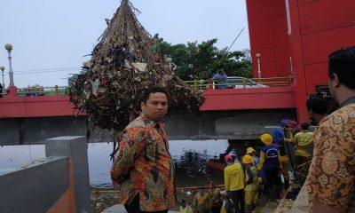 Arief Geram Sungai Cisadane Dipenuhi Sampah