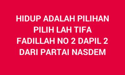 ASN di Pandeglang    Terang-terangan Kampanyekan Caleg Partai NasDem lewat Facebook
