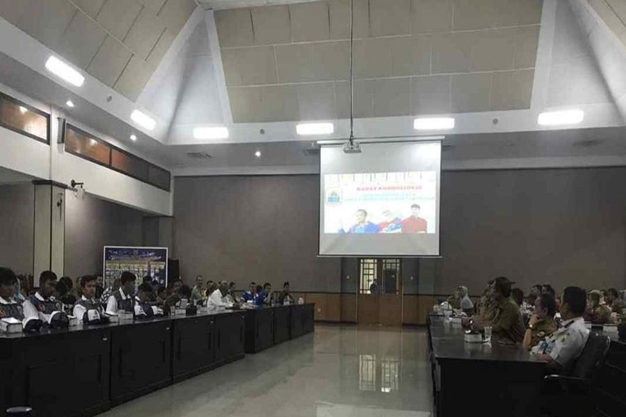 Atlet Porprov V Banten di Lebak
