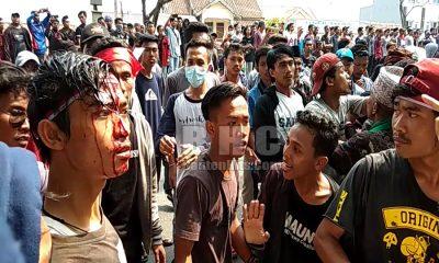 Bentrok Berdarah Warnai Aksi Gerakan Masyarakat Ujung Kulon di KP3B