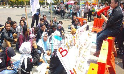 Demo Mahasiswa Kabupaten Serang