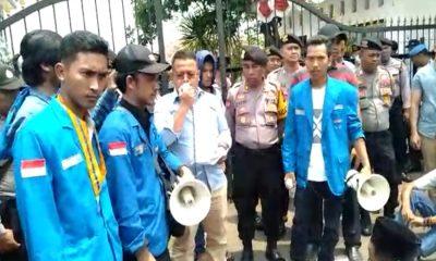 Demo PMII Tanya Kasus Korupsi