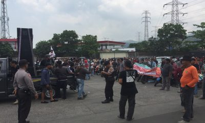 Demo di Mitsubishi Chemical Indonesia