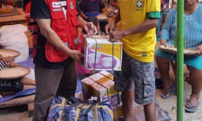 Dibawa Relawan Kabupaten Tangerang, Kue Kering dari Kelurahan Pinang Jadi Simbol Solidaritas untuk Korban Gempa di Sigi