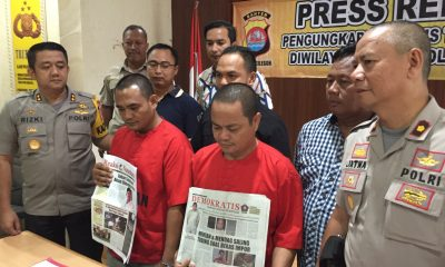 Dua Wartawan Gadungan Pemeras Kepala Sekolah di Cilegon Ditangkap Polisi