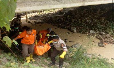 Mayat di Bawah Jembatan JLS Cilegon
