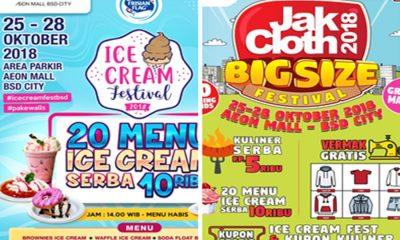 JakCloth Big Size dan Ice Cream Festival