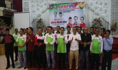 FSP KEP SPSI Banten deklarasi dukung Jokowi-Ma'ruf Amin