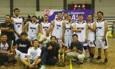 Tekuk Tim Tuan Rumah, Klub Basket Asal Lebak Garuda Boyong Piala Perbasi Kota Serang