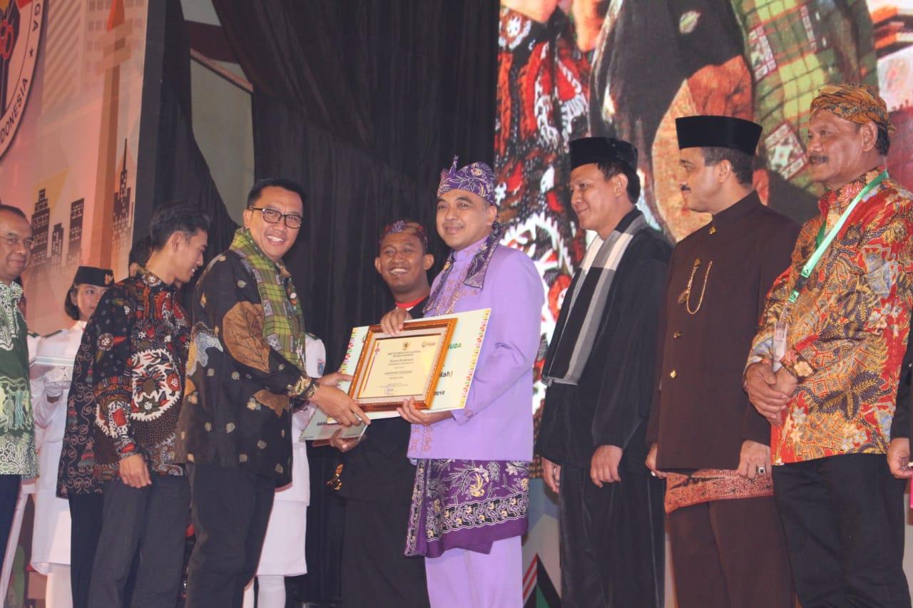 Zaki Raih Anugerah Kepemudaan dari Menpora