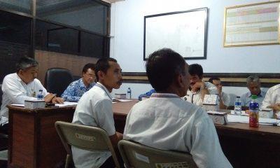 RAPAT VALIDASI BIDANG TANAH TERDAMPAK TOL SERANG-PANIMBANG