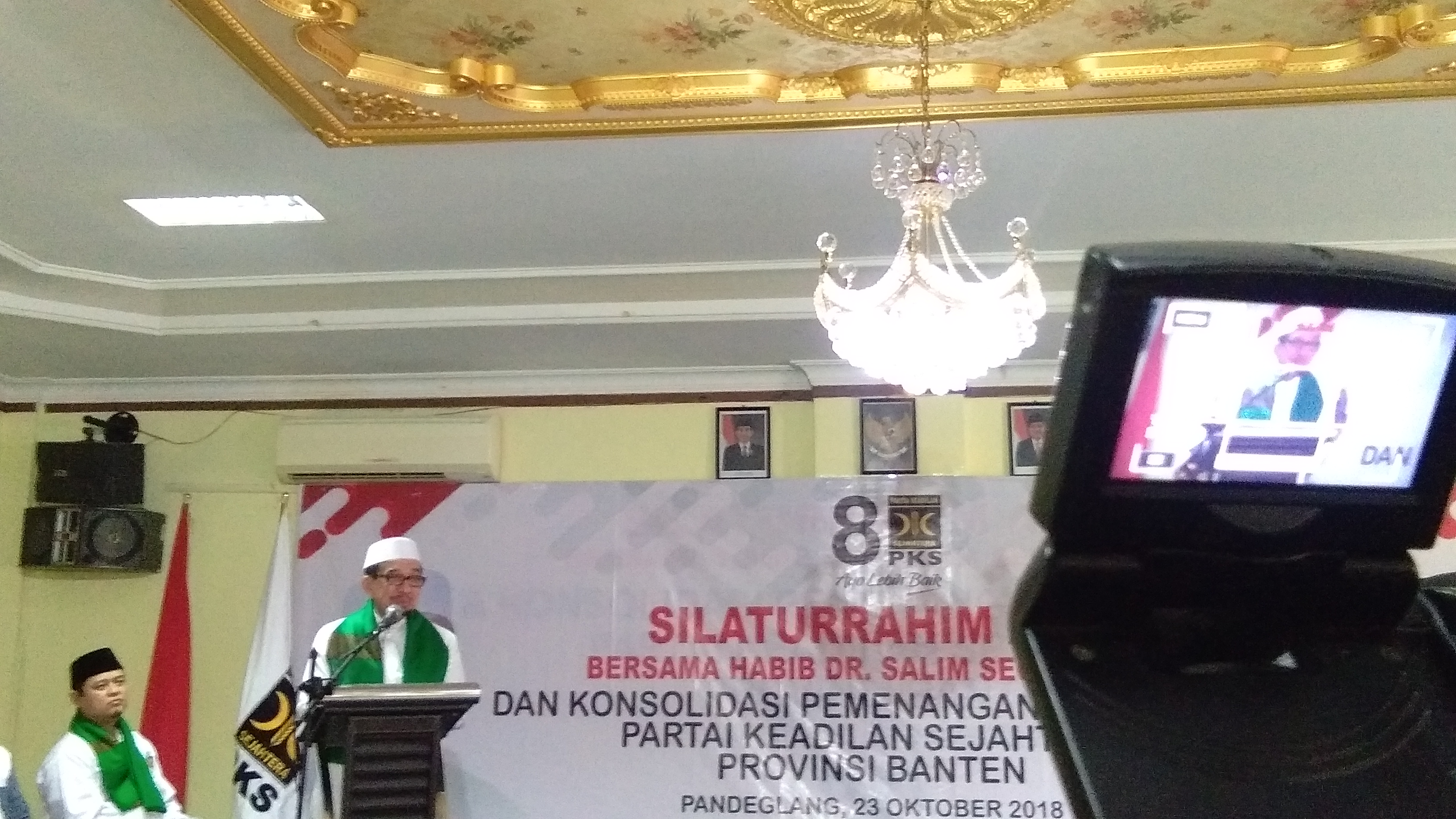Ketua Majelis Syuro PKS Habib Salim Segaf Al-Jufri