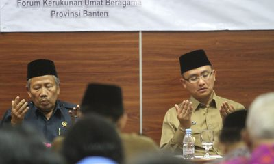 Buka Sosialisasi PBM Kerukunan Umat Beragama, Wagub Banten Soroti Hoax