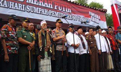 Kapolda Banten di Kirab Merah Putih