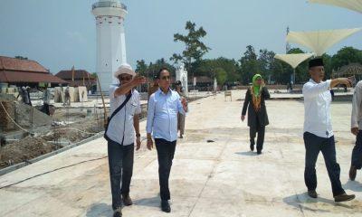 Ketua DPRD Banten Tinjau Kawasan Banten Lama