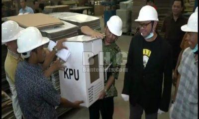 Kotak Suara Diproduksi di Tangerang