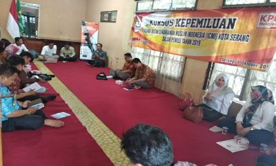 KPU Kota Serang Gelar Kursus Kepemiluan