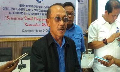 Kepala Balai Monitoring (Balmon) Klas I Tangerang Banten Sunarto