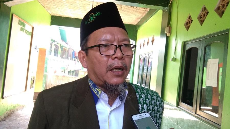 Ketua MUI Pandeglang Tb. Hamdi Ma'ani minta Banser Pandeglang tak ikutan bakar bendera berkalimmat tauhid
